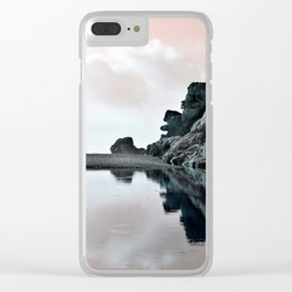 Reflections Of A Floating Coast Clear iPhone Case