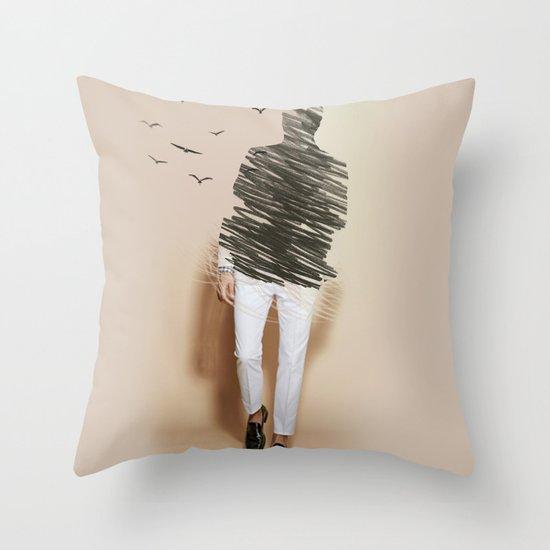 vanish Throw Pillow