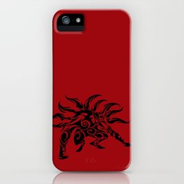 Kurama Tribal iPhone Case