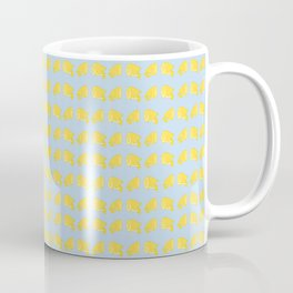 Catch the Half Lemon (Pattern Version) Coffee Mug