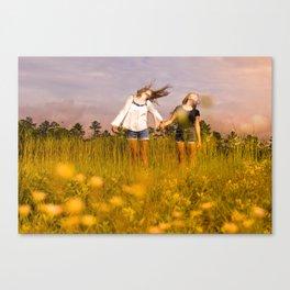 Wind. Canvas Print