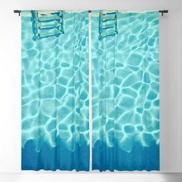 Swimming Pool IX Blackout Curtain