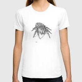 Inktober 2016: Jumping Spider T-shirt