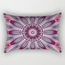 Feathered Mandala Rectangular Pillow