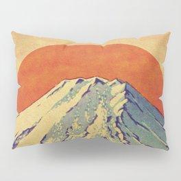 The Red Sunrise at Dayai Shore Pillow Sham