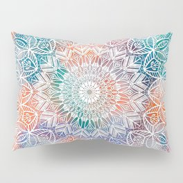 Leaves Mandala Pillow Sham