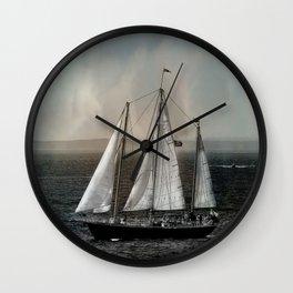 Safe Passage Wall Clock