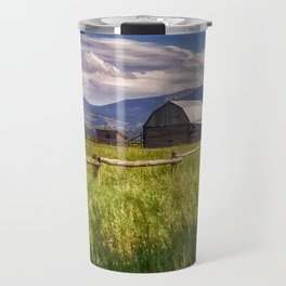 Mormon Row - Grand Teton National Park, Wyoming Travel Mug