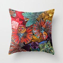 The Koi Throw Pillow