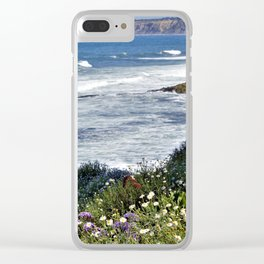 La Jolla Beauty by Reay of Light Photography Clear iPhone Case