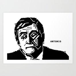 Antonio Art Print