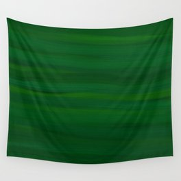 Emerald Green Stripes Abstract Wall Tapestry