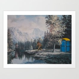 Nature Called Art Print