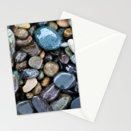Wet pebbles Stationery Cards
