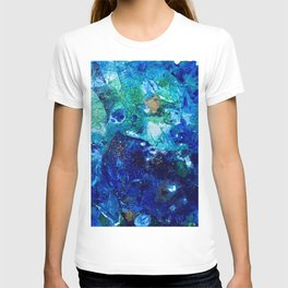 Look Down As The Rain Falls Into The Sea T-shirt