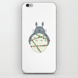 christmas neighbour iPhone Skin