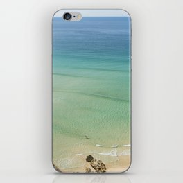 Paddling in Paradise. iPhone Skin