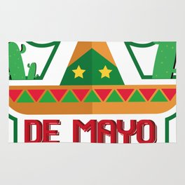 Cinco De Mayo 2018 Celebration Funny Rug