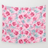 valentine Wall Tapestries featuring Valentine by frou frou