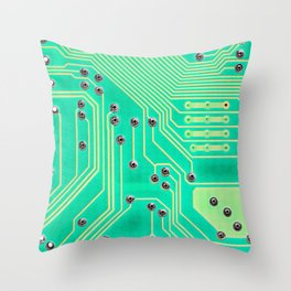 Connections @society6 #society6 #decor #buyart Throw Pillow