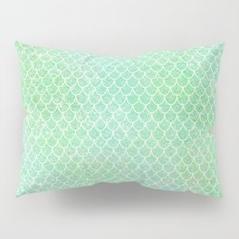 Glitter Mermaid Tail Pattern Pillow Sham