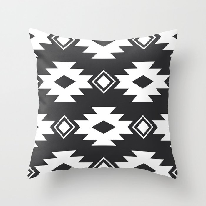 Geometric Navajo Throw Pillow