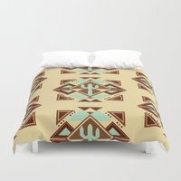 southwest Duvet Covers featuring Southwest by S. Vaeth
