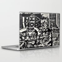 hip hop Laptop & iPad Skins featuring Hip Hop by J. Unger Photography