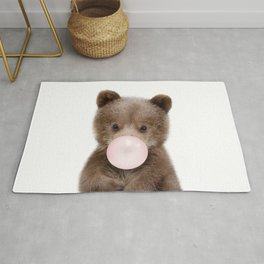 Bubble Gum Bear Cub Rug