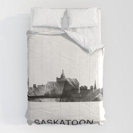 Saskatoon, Saskatchewan Canada Skyline WB WB Comforters