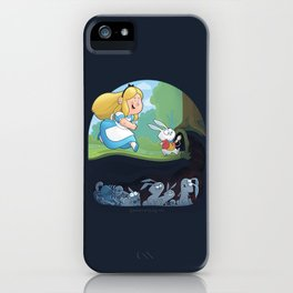 Alice in Troubleland iPhone Case