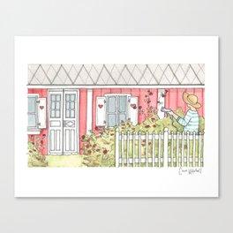 Home #3 Canvas Print