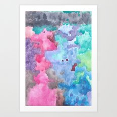 Color Abstract Art Print