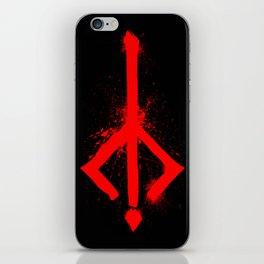 Bloody Rune iPhone Skin
