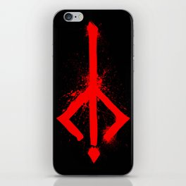 Bloody Rune iPhone Skin