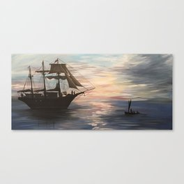 Peaceful Voyage Canvas Print