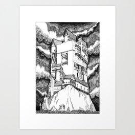 Fort September (BW) Art Print