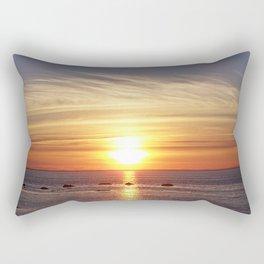 Gaspesie Sunset Rectangular Pillow