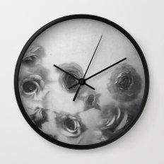 Falling Flowers Variation I Wall Clock