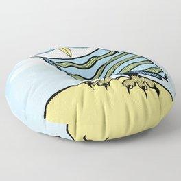 AL the Owl Floor Pillow