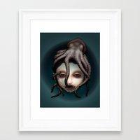 misfits Framed Art Prints featuring Misfits - Andromeda by Raymond Sepulveda