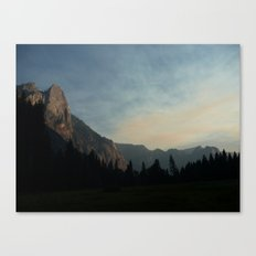 Yosemite Sunset Canvas Print