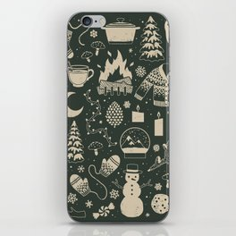 Winter Nights: Forest iPhone Skin