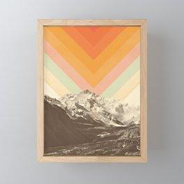 Mountainscape 2 Framed Mini Art Print