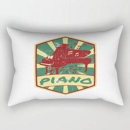 Piano Propaganda | Piano Musical Instrument Gift Rectangular Pillow