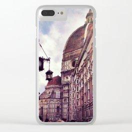 The Cattedrale di Santa Maria del Fiore Pt. II Clear iPhone Case