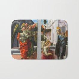 """Fra Filippo Lippi """"Martelli Annunciation"""" Bath Mat"""