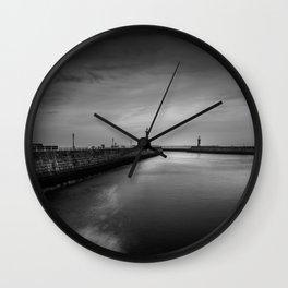 The Long Way Wall Clock