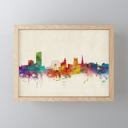 Sheffield England Skyline Framed Mini Art Print