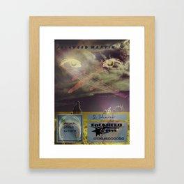 Föckheed laminate badge Framed Art Print